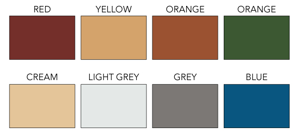 Ucrete Color Chart