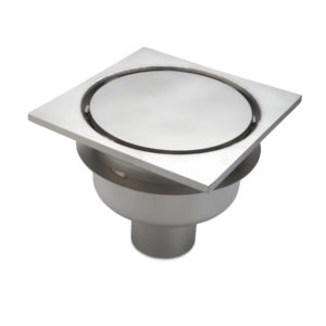 Stainless Steel Square Top Drain